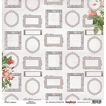 ScrapBerry's Elegy Single-Sided Cardstock 12