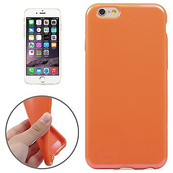Apple iPhone 6 plus mobile affaire TPU Orange
