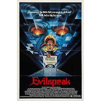 Постер фильма Evilspeak (11 x 17)