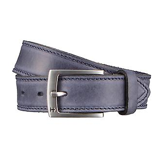 Hattric belt leather belts men's belts blue 2925