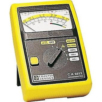 Chauvin Arnoux C.A 6513 Insulation measuring device, 500/1000 V