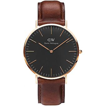 Watch Daniel Wellington St Mawes DW00100124 - Leather Brown man