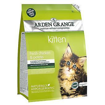 Arden Grange korn frie killing med frisk kylling & kartoffel 400g (pakke med 6)