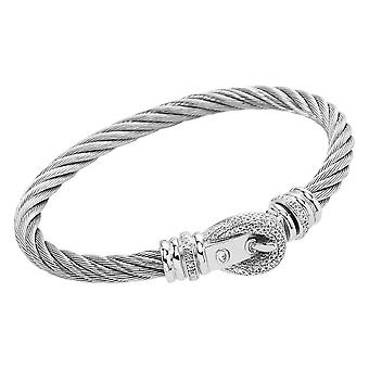 Burgmeister Bangle with Cubic Zirconia JBM3033-521