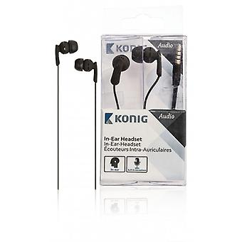 König In-ear headset black