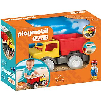 Carro de descarga de arena de Playmobil