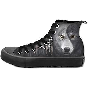 Spiraal zielen mannen Wolf Chi High Top Sneakers UK 8