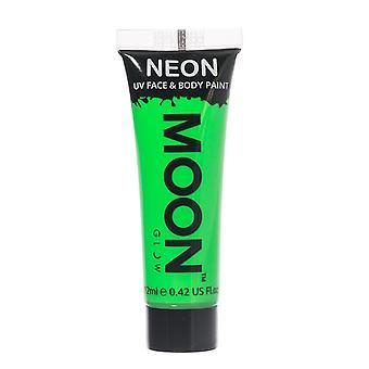 Moon Glow - 12ml Neon UV Face & Body Paint - Intense Green