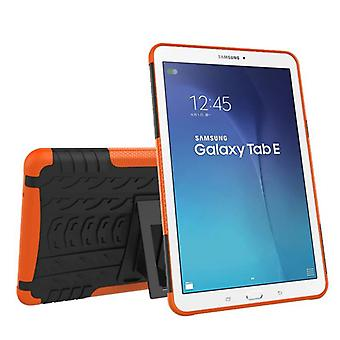 Hybrid outdoor protective cover case Orange for Samsung Galaxy tab E 9.6 SM T560 T561 bag