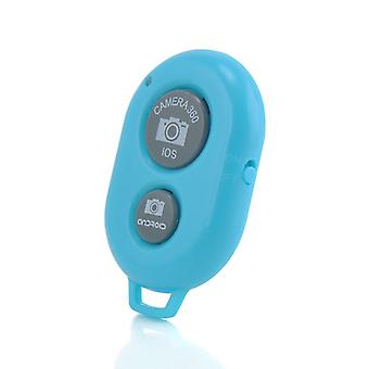 Lenovo IdeaTab S5000 (Blue) Wireless Bluetooth Camera Shutter Remote Self Timer Control For All Android, iOS Devices Tablets