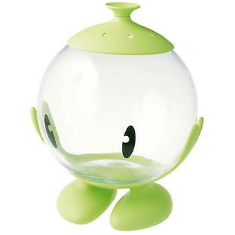 United Pets Multi Bubble Glass Container Green (Fish , Fishbowls & Tanks)
