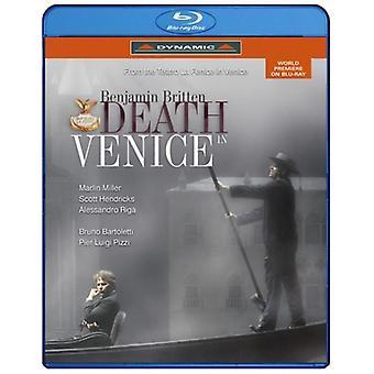 B. Britten - døden i Venedig [BLU-RAY] USA import