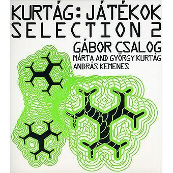 G. Kurtag - Kurt G: J T Kok udvalg 2 [CD] USA importerer