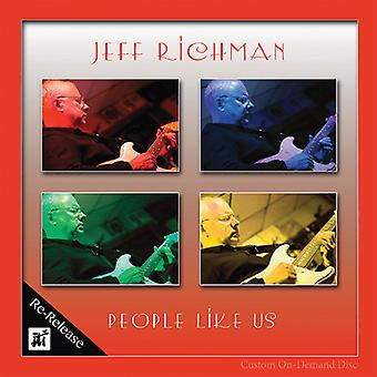 Jeff Richman - folk som os [CD] USA import