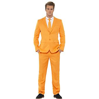 Mr. Orange suit Orange Holland suit slimline men's 3-piece premium
