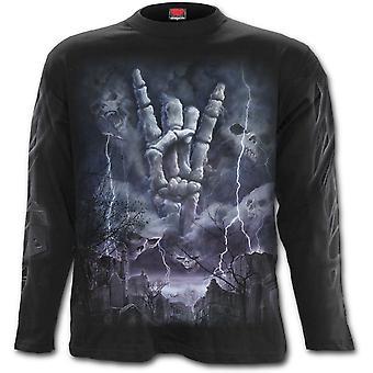Spiral - ROCK ETERNAL - Men's Long Sleeve T-Shirt .
