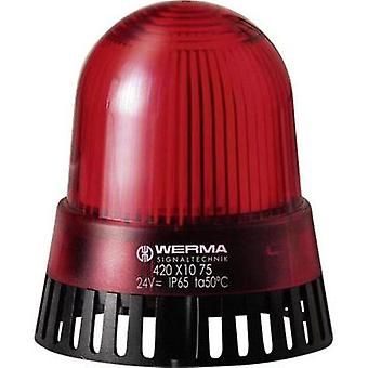 Buzzer LED Werma Signaltechnik 420.110.68 Red