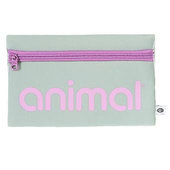 Animal Mavie Pencil Case - Green