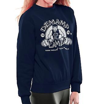 Demamp Camp Workaholics Women's Sweatshirt