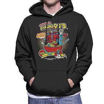 Psycho Crushers Shadaloos Cereal M Bison Street Fighter Men's Hooded Sweatshirt