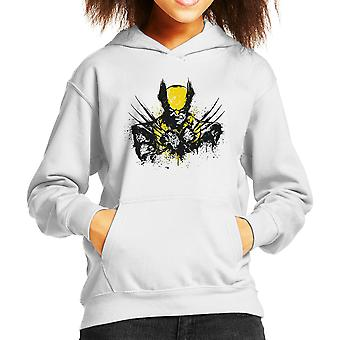 X Men Logan Mutant Rage Kid's Hooded Sweatshirt
