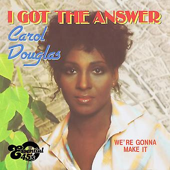 Carol Douglas - I Got the Answer / We're Gonna Make It [CD] USA import