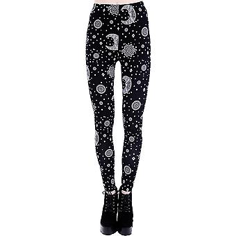 Hippie Moon Leggings Womens Leggings