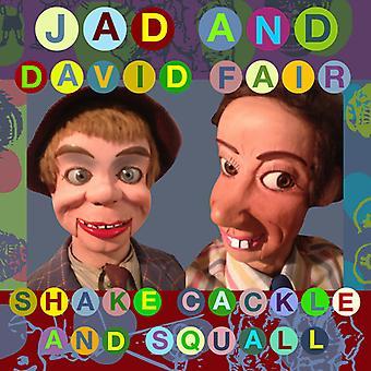 Jad Fair & David - ryste kagle & Squall [CD] USA import