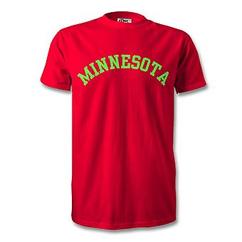 Minnesota College stylu T-Shirt