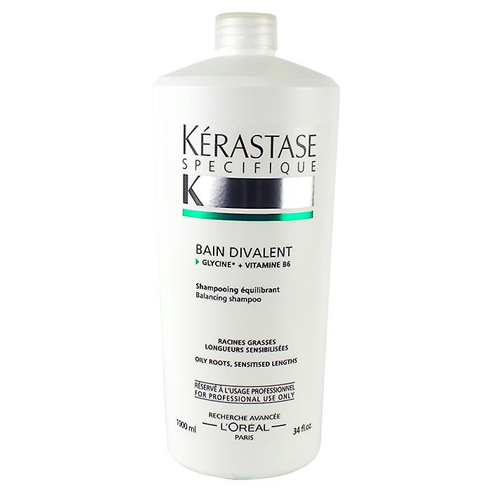 Kerastase Specifique Bain Divalent Balancing Shampoo (For Oily Roots - Sensitised Lengths) 1000ml/34oz