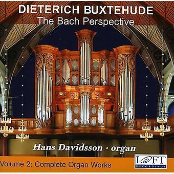 D. Buxtehude - Buxtehude: Komplet orgelværker, Vol. 2 - Bach perspektiv [CD] USA importerer