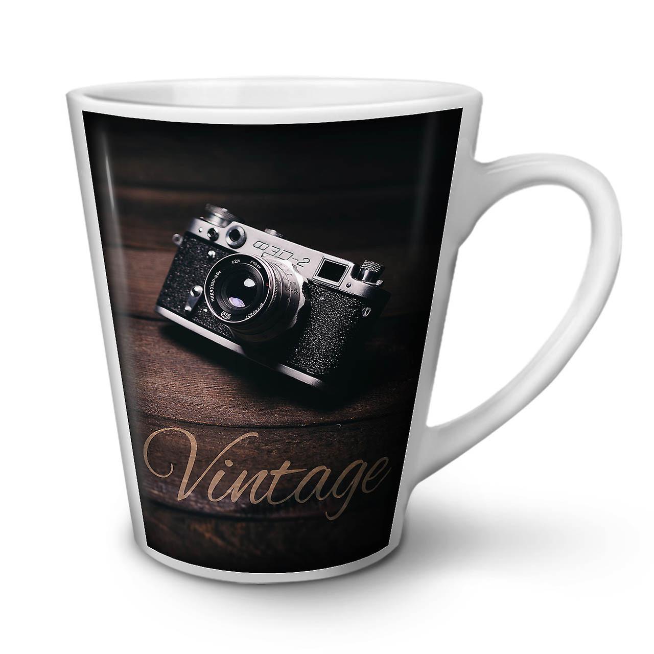 Camera Latte En Foto OzWellcoda Nouvelle Tasse 12 Vintage Blanche Café Céramique PkXuZi
