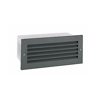 Grimstad Louvered Recessed Led Wall Light - Elstead Lighting G/stad Lvd Led G