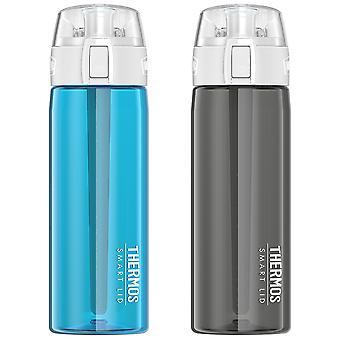 Thermoskanne 24 Unzen verbunden Hydratation aktiv Sport Wasserflasche mit Smart Lid