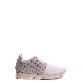 Leather Crown men's MCBI185004O White leather of sneakers
