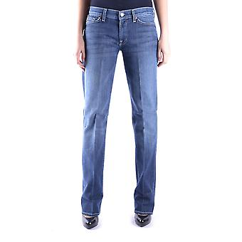 7 for all mankind ladies MCBI004015O Blau cotton of jeans
