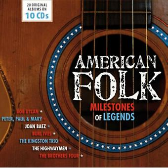 American Folk - Milestones of Legends by Various Artists