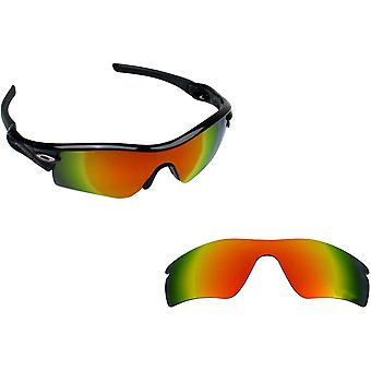 RADAR PITCH Replacement Lenses Polarized Red by SEEK fits OAKLEY Sunglasses