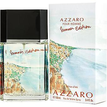 Azzaro Pour Homme Summer By Azzaro Edt Spray 3.4 Oz (2013 Edition)