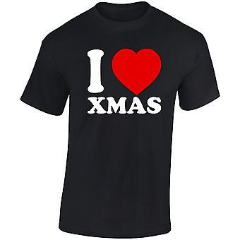 I Love Xmas Christmas Mens T-Shirt 10 Colours (S-3XL) by swagwear