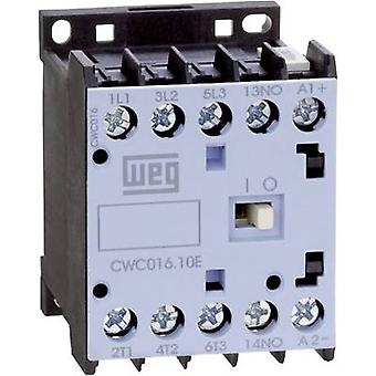 Contactor 1 pc(s) CWC07-10-30C03 WEG 3 makers 3 kW