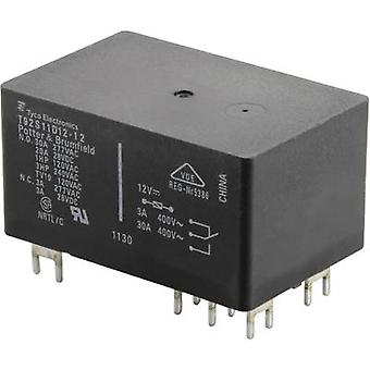 PCB relays 24 Vdc 30 A 2 change-overs 1393211-90