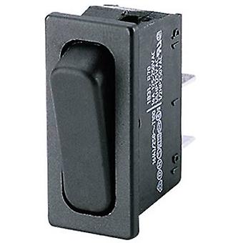 Toggle switch 250 V AC 4 A 1 x Off/(On) Marquardt