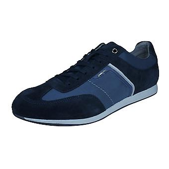 Mens Geox Trainers U Clemet B Casual Shoes - Blue