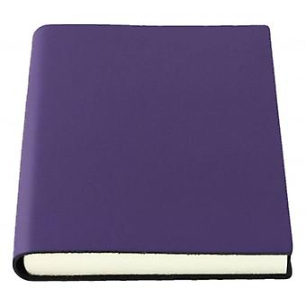 Coles Pen Company Sorrento Medium Plain Journal - Aubergine Purple