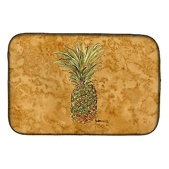 Carolines Treasures  8654DDM Pineapple Dish Drying Mat