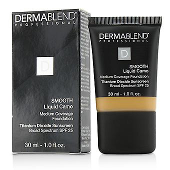 Dermablend Smooth Liquid Camo Foundation SPF 25 (Medium Coverage) - Honey (45W) 30ml/1oz