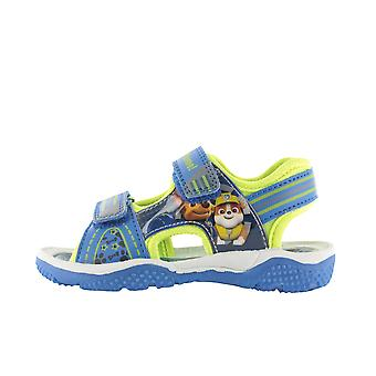 Boys Paw Patrol Blue & Green Sport Sandal Beach Walking Childrens Shoes 5-10