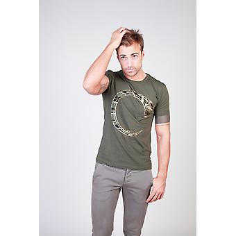 Cavalli Class Men T-shirts Green