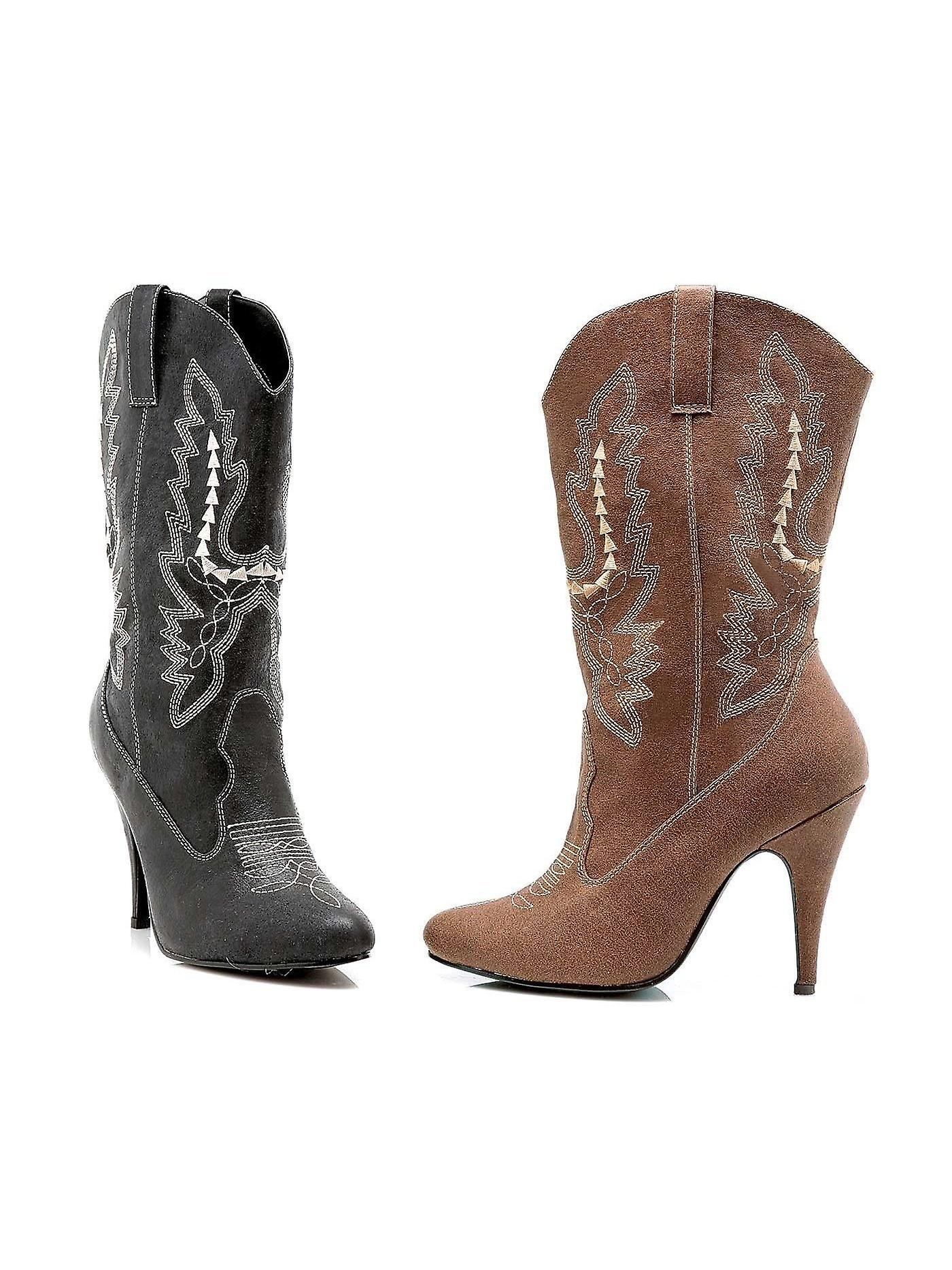 Ellie ist-E-41-Cowgirl 4 Schuhe Heel Ankle Cowgirl Boot Sz
